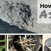 How to make ashes