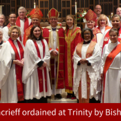 Stephanie Moncrieff ordained