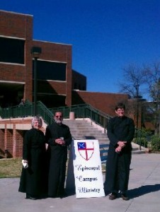 Ashes to Go on Ash Wednesday at Tarleton State University