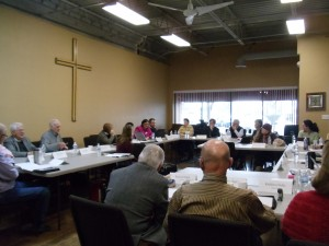 2015-01-31 Executive Council at St.Stephen's Hurst