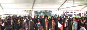 Master's program graduates