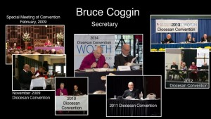 Bruce recogition at convention