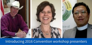 Photo of 3 workshop presenters
