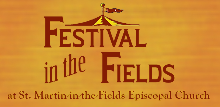 word art image of festival in the fields at St. Martin-in-the-Fields Episcopal Church in Keller/Southlake