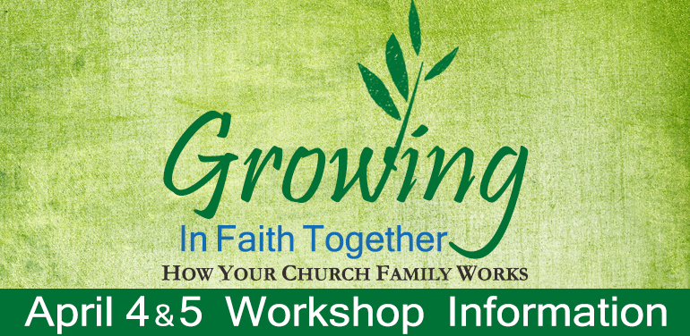 word image promoting congregational development workshop in the Episcopal Diocese of Fort Worth