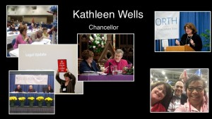 Kathleen recognition at convention