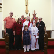 Lynne Waltman with her family