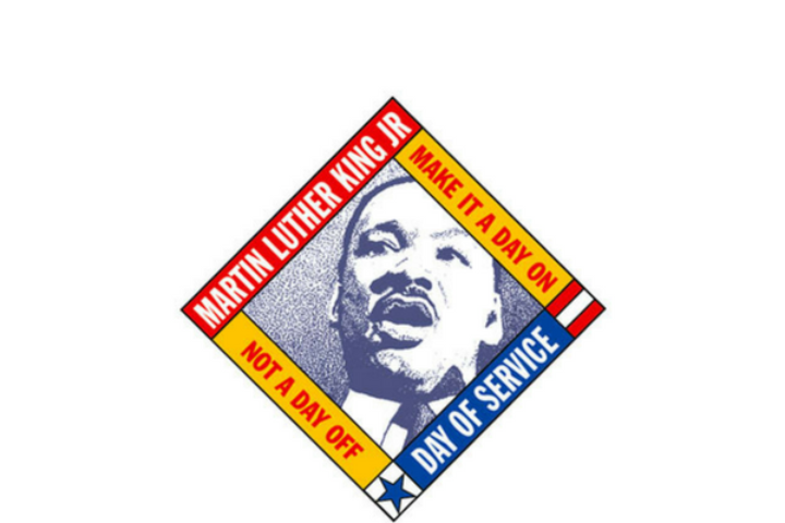 MLK Day of service logo