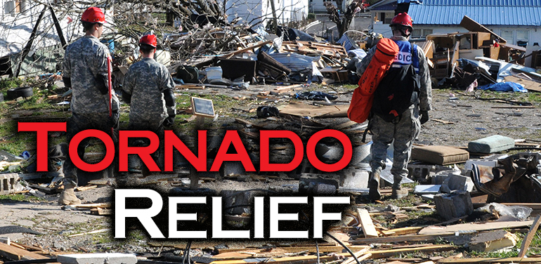 image of tornado relief