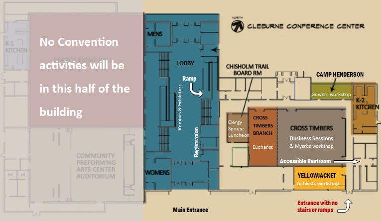 facility floor plan