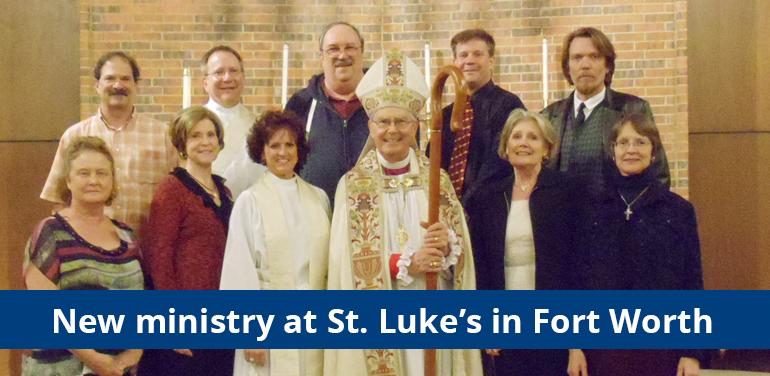 rector Karen Calafat & vestry of St. Luke's in the Meadow Episcopal Church