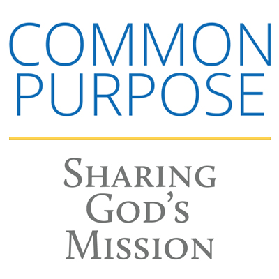 Wordart image of Common Purpose - Sharing God's Mission