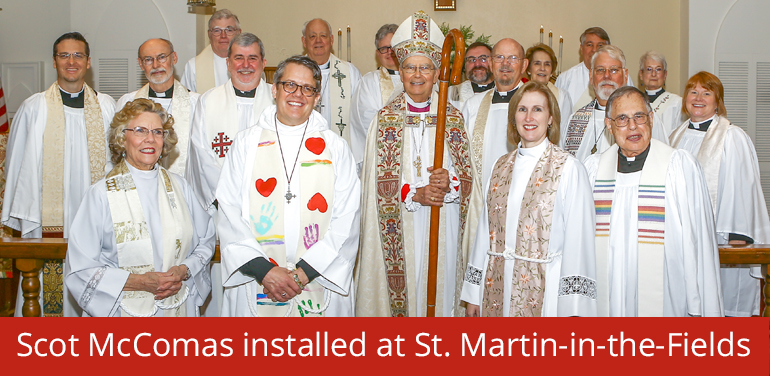 new rector at St. Martin-in-the-Fields Episcopal Church in Keller/Southlake