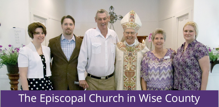 Bishop Rayford High at the Episcopal Church of Wise County, part of the Diocese of Fort Worth